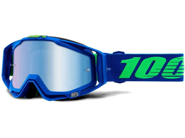 100% Racecraft Anti Fog Mirror Goggles Dreamflow